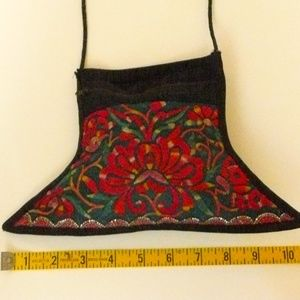 Embroidered Pouch/Purse